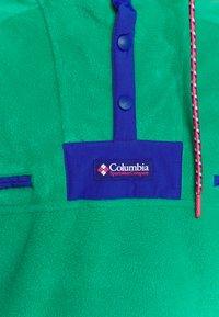 Columbia - POWDER - Fleece jumper - emerald green/lapis blue - 5