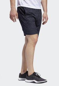 adidas Performance - 4KRFT SPORT STRIPED HEATHER SHORTS - Sports shorts - blue - 3