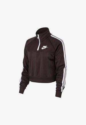 W NSW TOP LS HZ SHDW STRP - Sweatshirt - bordeaux/pink/white