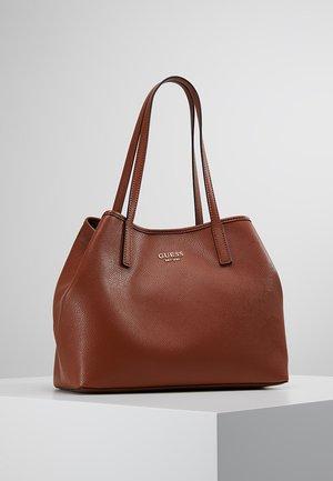 VIKKY TOTE SET - Handbag - cognac