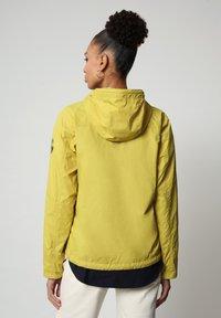 Napapijri - A-CIRCULAR - Light jacket - yellow moss - 3