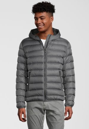 KAPUZE - Down jacket - grey