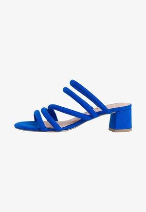 TAMARIS PANTOLETTE - Sandals - royal