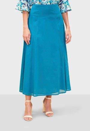 TALILA - Maxi skirt - blue