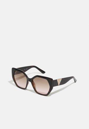 Sunglasses - dark havana / brown mirror