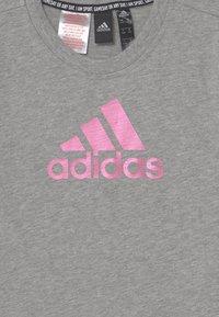 adidas Performance - DRESS - Jersey dress - grey/pink - 2