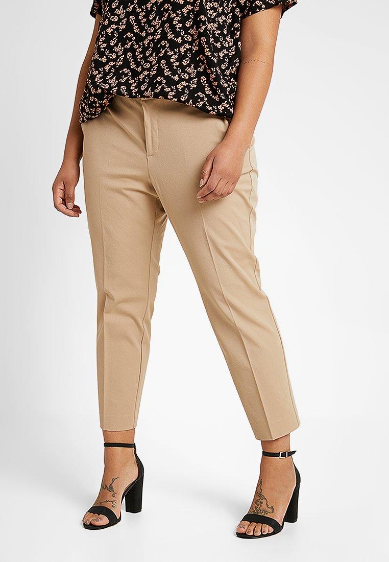Lauren Ralph Lauren Woman - LYCETTE PANT - Trousers - birch tan
