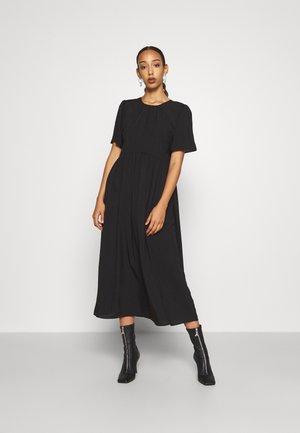 VALERIE MIDI DRESS - Denní šaty - black