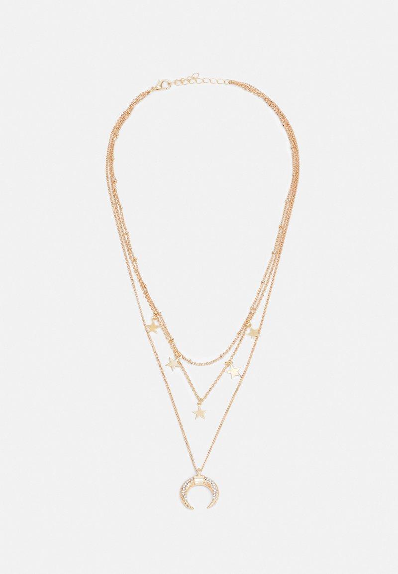 Fire & Glory - FGSOFFI COMBI NECKLACE - Necklace - gold-coloured