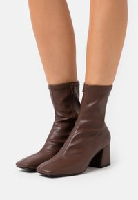 Monki - VEGAN LEIA BOOT - Classic ankle boots - brown - 0