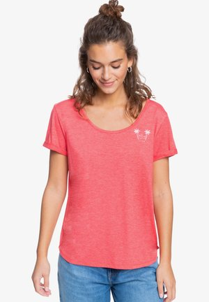 COCKTAIL HOUR - Print T-shirt - hibiscus