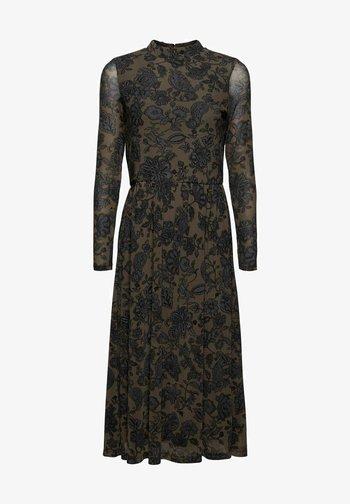 AUSGESTELLTES  - Day dress - dark brown