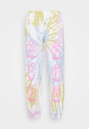 SKILLZ  - Tracksuit bottoms - lilac/multi