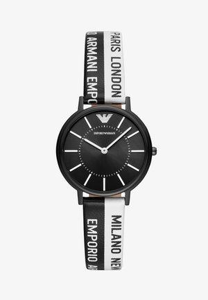 Watch - black/white