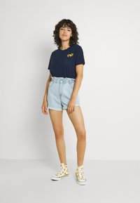 Hollister Co. - Basic T-shirt - navy - 1