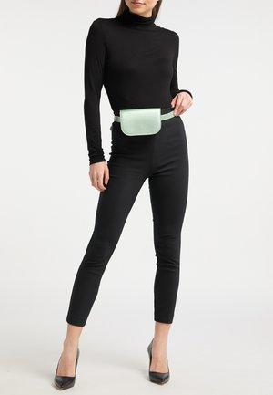 Bum bag - green metallic