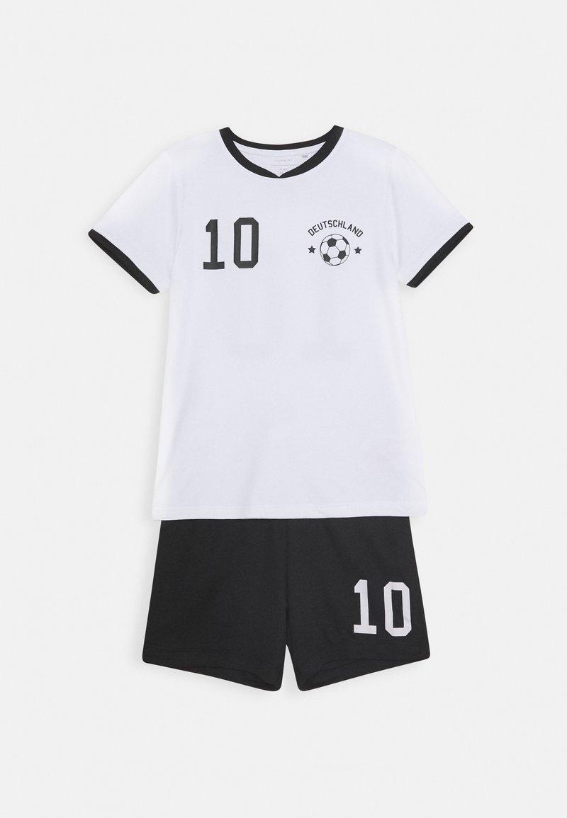 Name it - NKMHATEAM SHORT SET - Shorts - bright white/black