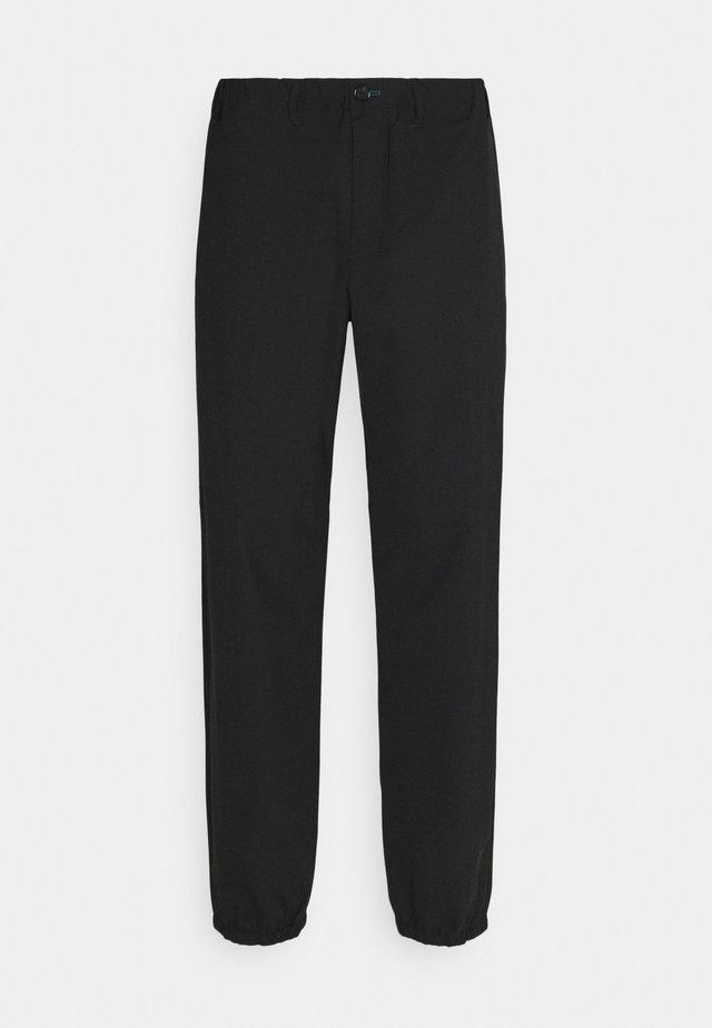 MENS ELASTICATED TROUSER - Kalhoty - black