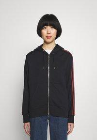 Paul Smith - Zip-up sweatshirt - black - 0
