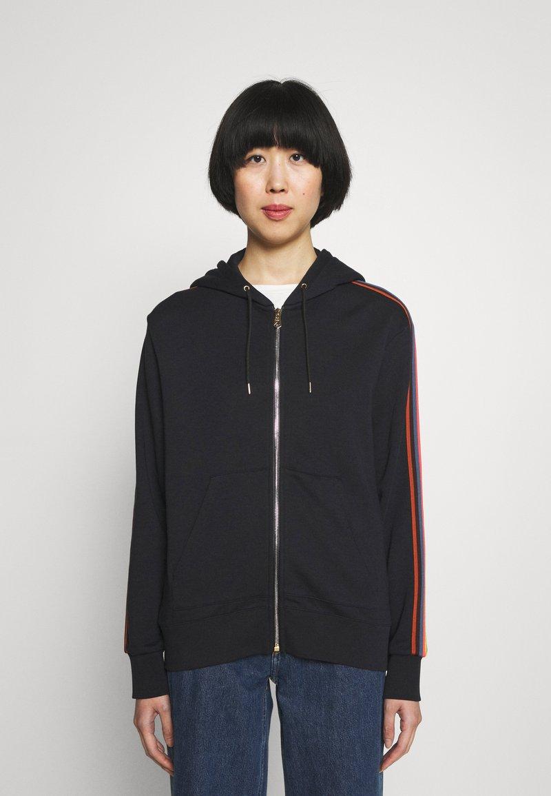 Paul Smith - Zip-up sweatshirt - black