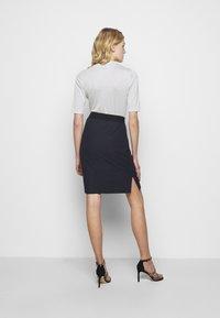 HUGO - NENALIA - Pouzdrová sukně - open blue - 2