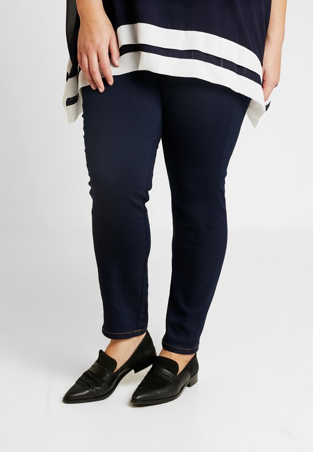 IDROGENO - Jegging - blu marino