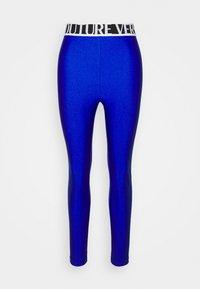 Versace Jeans Couture - PANTS - Leggings - Trousers - blue - 4