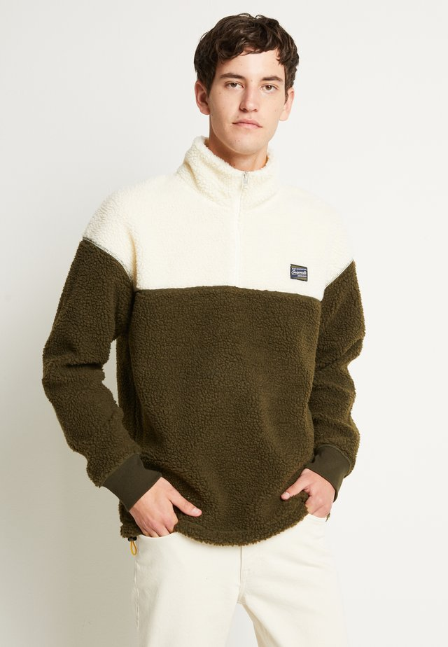 JOROVER HALF ZIP - Sweat polaire - forest night