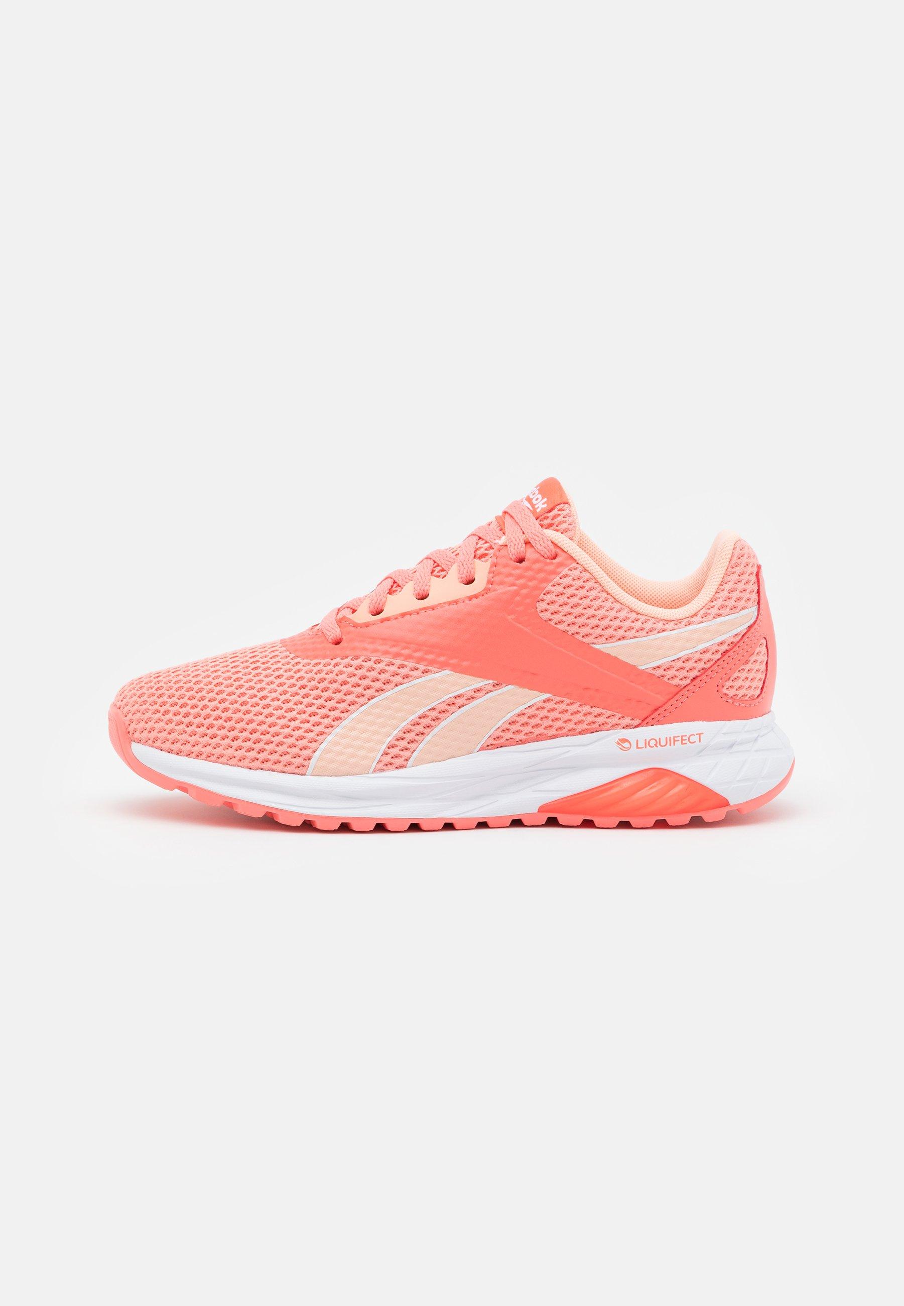 Reebok Liquifect 90 Neutral Running Shoes Coral Orange Coral Zalando De