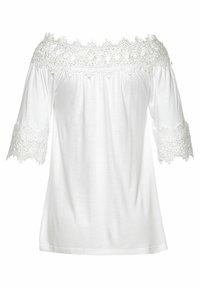 LASCANA - Long sleeved top - weiß - 1
