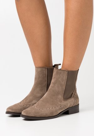 LEATHER - Bottines - beige