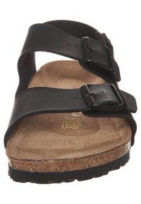 Birkenstock - MILANO - Sandals - black - 3