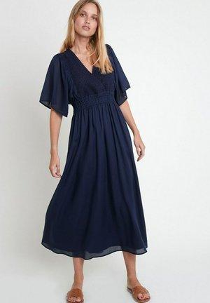 Korte jurk - bleu marine