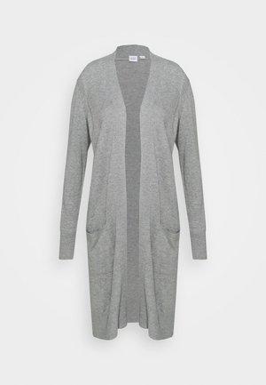 DUSTER CARDI - Kardigan - heather grey