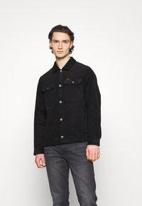 Volcom - LIKEATON JACKET - Summer jacket - black - 0