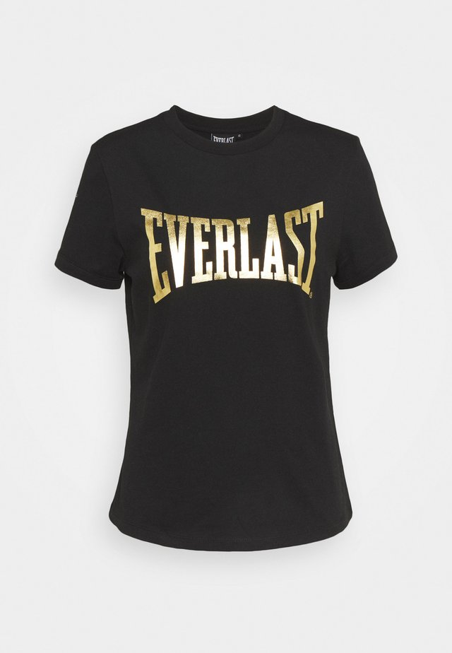 BASIC TEE LAWRENCE - T-shirt con stampa - black