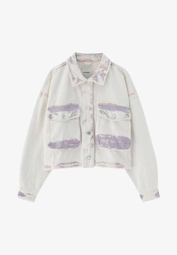 Denim jacket - purple