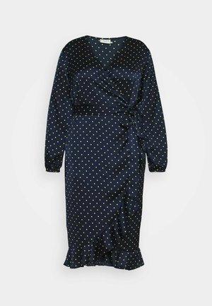 KCHALE WRAP DRESS - Denní šaty - midnight marine