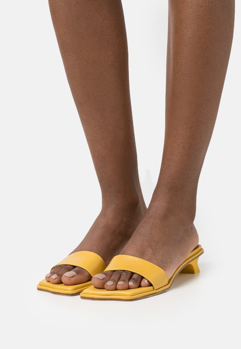 Rejina Pyo - ISLA  - Pantofle - ocre