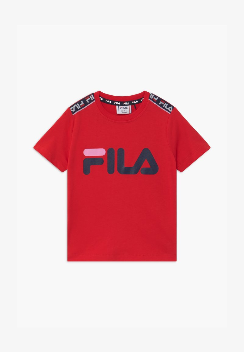 Fila - LENA TAPED - T-shirt imprimé - true red