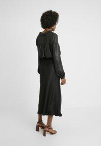 Missguided Tall - MIDAXI SKIRT - Maksihame - black - 2