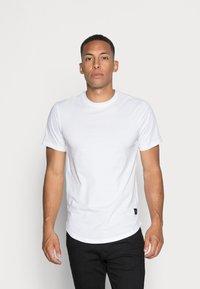 Only & Sons - ONSMATT LONGY TEE 3 PACK - T-shirt - bas - white - 0