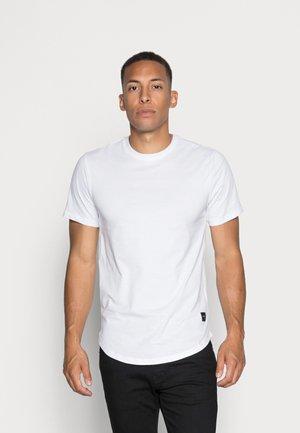 ONSMATT LONGY TEE 3 PACK - T-shirt basic - white