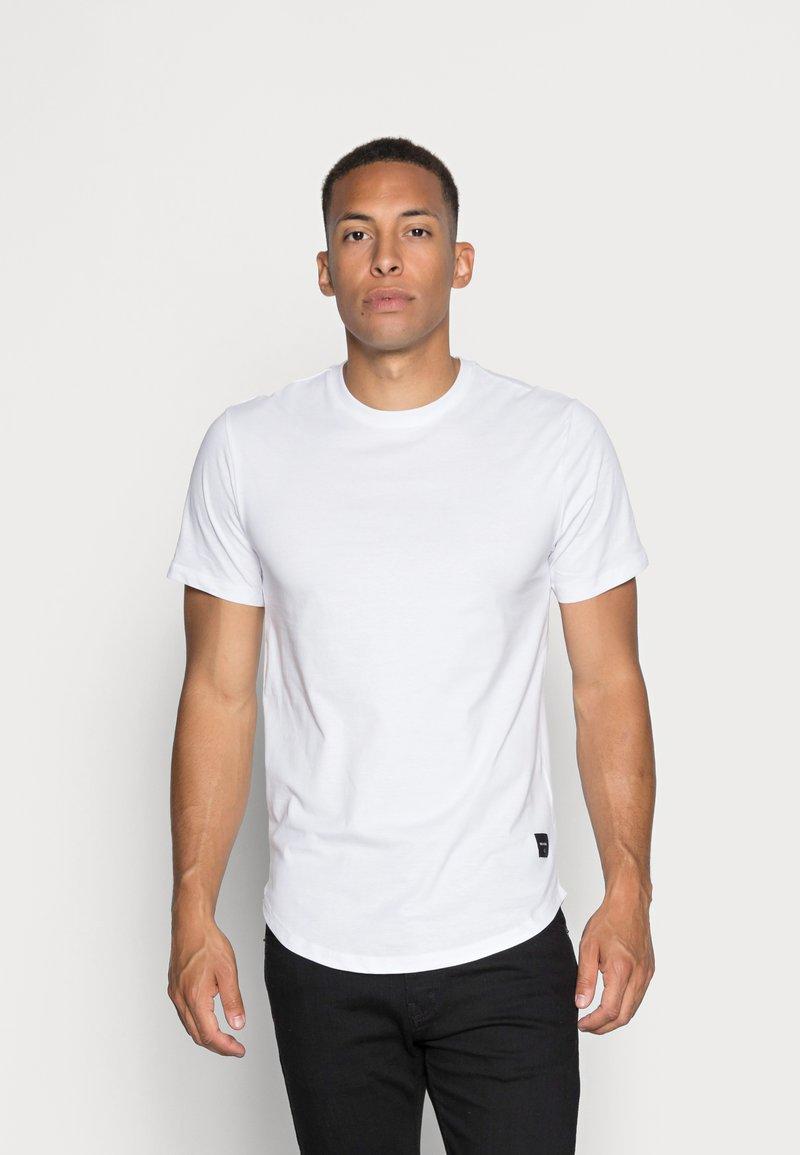 Only & Sons - ONSMATT LONGY TEE 3 PACK - T-shirt - bas - white