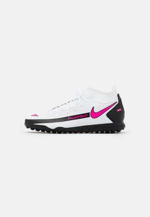 PHANTOM GT CLUB DF TF  - Astro turf trainers - white/pink blast/black
