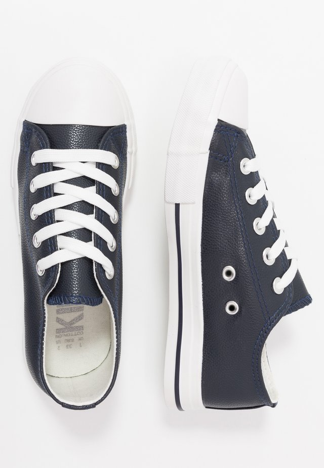 CLASSIC TRAINER LACE UP - Trainers - navy