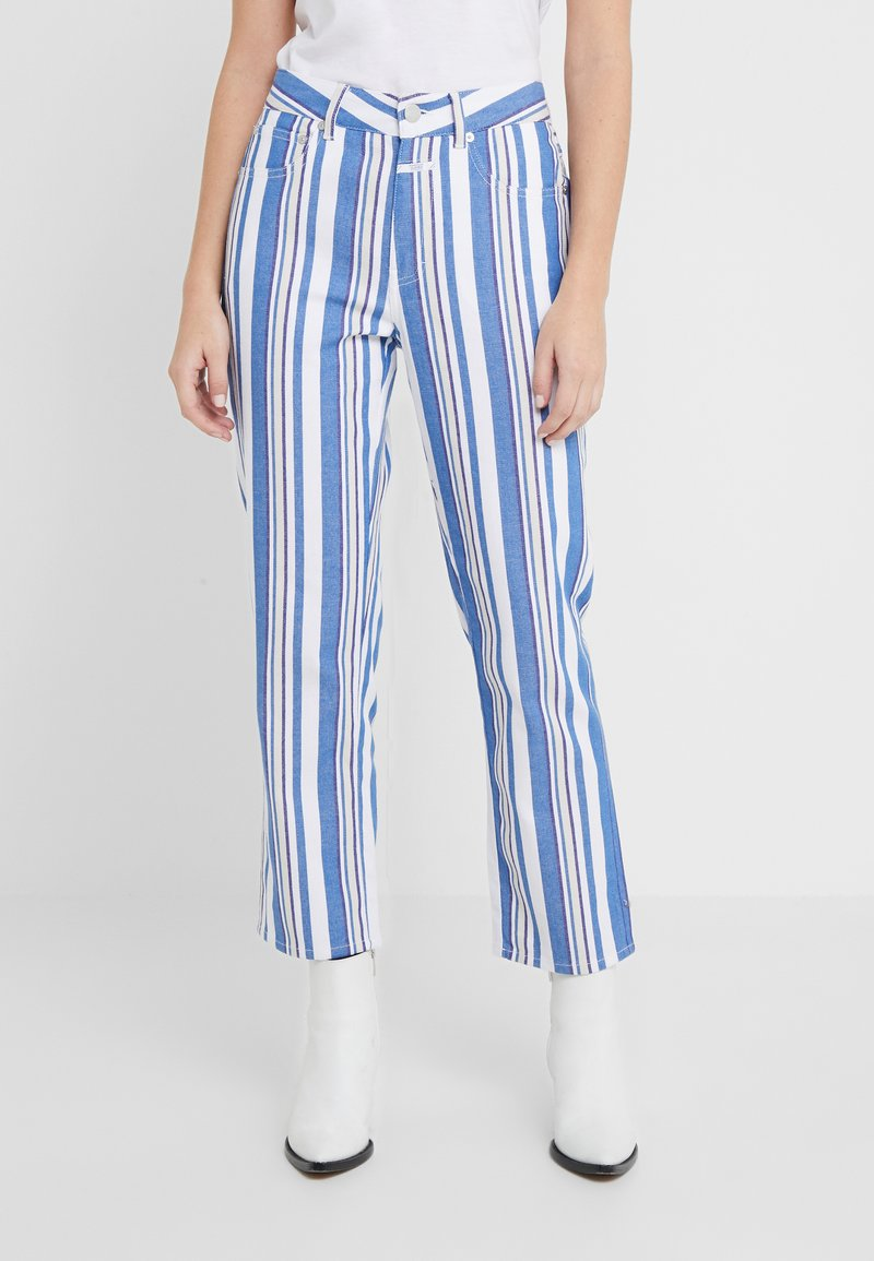 CLOSED - GLORIA - Trousers - bluebird