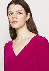 Lauren Ralph Lauren - MID WEIGHT DRESS - Shift dress - modern dahlia - 3