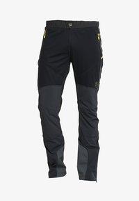 SOLID PANT  - Friluftsbyxor - black