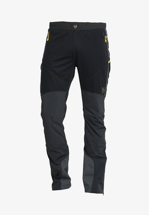 SOLID PANT  - Outdoorbroeken - black